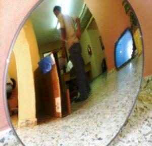 Espejo circular convexo empresas nolvi srl for Espejo concavo precio